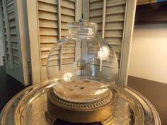 CLOCHE Glass Round Shape with Vintage by VintageCreativeAccen, $23.00