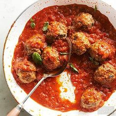 Ricotta Meatballs From Better Homes and Gardens, ideas and improvement projects for your home and garden plus recipes and entertaining ideas.