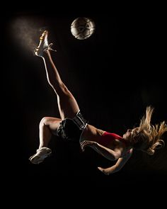 soccer sports portrait. I am practicing to get to do this. #tryinghard