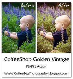 CoffeeShop Golden Vintage PS/PSE Action!