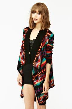 "Nasty Gal Desert Knit inspired by Tame Impala's ""Elephant."