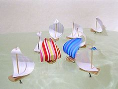 Creative things to do with win corks.  Float a boat