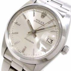 ROLEX Oyster Date 6694 Silver Men's Wrist Watch 1266814 #brandear #watch http://ift.tt/2jJimsO