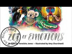 Zoo of Emotions - Storybook Read Aloud! - YouTube