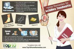 Home Remedies for Achilles Tendonitis #PlantarFasciitisRemedy