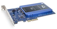 This is what is required to install a SSD in a PCIe slot to get have the fastest storage.