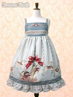 Innocent World - Carousel of Paris Babydoll JSK /// ¥19,950 /// Bust:  70~144cm Length:  93cm (includes 7.5cm of frills)