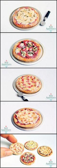 Miniature pizza