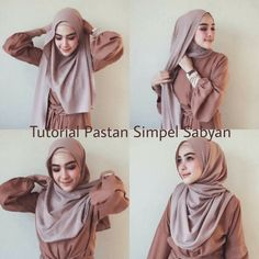 Tutorial Video for Widyastuti Hijaber Smile - Fairy Hijaber Stylish Hijab, Hijab Casual, Hijab Chic, Hijab Outfit, Modern Hijab Fashion, Street Hijab Fashion, Hijab Fashion Inspiration, Simple Hijab Tutorial, Hijab Style Tutorial