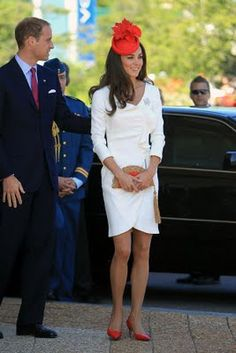 Kate Middleton. There is just something about her beauty and her conservative, yet extremely fashionable ways, that I absolutely love.