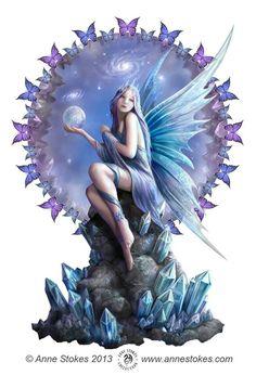 Fantasy Art: Fairies, Artist: Anne Stokes