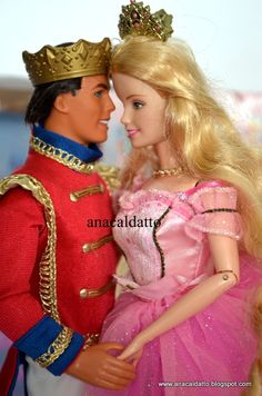 Barbie e Ken - Casal de Bonecos em O Quebra Nozes de 2001