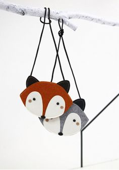 Available at www.sayswoo.com  This is one adorable little bag! Comes in 2 colors, brown fox and grey raccoon. Your little one is sure going to love wearing her own stylish bag.  Mini Dressing is a South Korean brand, everything is designed and made in Korea.