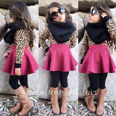 What a little fashionista! Little Girl Outfits, Cute Outfits For Kids, Little Girl Fashion, Cute Little Girls, Toddler Outfits, Cute Kids Fashion, Toddler Fashion, Look Fashion, High Fashion