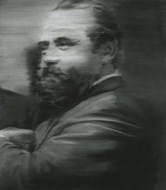 Portrait Schmela  1964 110 cm x 97 cm Catalogue Raisonné: 37-2  Oil on canvas