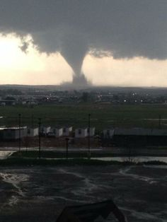 @TODAY Tornado severely damages North Dakota oil workers' camp and injures nine http://on.today.com/1nrlnbY 5-26-2014