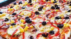 Mozzarella, Vegetable Pizza, Cooking Recipes, Vegetables, Mai, Food, Happy, Chef Recipes, Essen