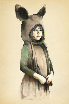 Beautiful new work by Australian artist Kareena Zerefos