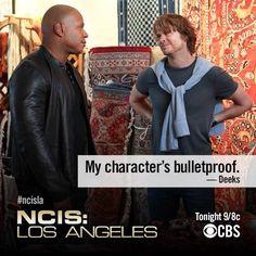 Ohh Deeks haha #NCIS:LA