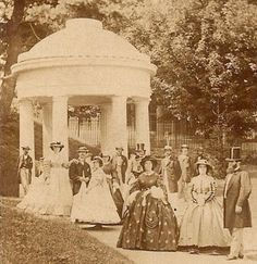 A walk in the Park (1860s)