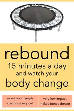Rebounding for Health - Weight Loss Tips Weight Loss Challenge, Best Weight Loss, Weight Gain, Weight Loss Tips, Losing Weight, Challenge Quotes, Body Weight, Weight Lifting, Trampolines