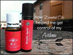 Using Essential Oils to Manage Asthma (these blends contain nullifying oils)