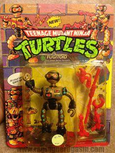 Vintage TMNT Teenage Mutant Ninja Turtle Fugitoid action figure by Playmates Ninja Turtle Toys, Teenage Mutant Ninja Turtles, Retro Toys, Vintage Toys, Tmnt Characters, Modern Toys, Classic Toys, Old Toys, Action Figures