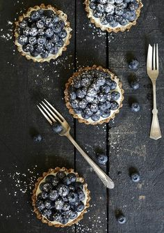 Blueberry Mascarpone Tartlets.