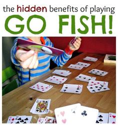 The Hidden Benefits of Go Fish include early math learning and social skills.