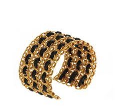 New Arrivals: Chanel Leather and Chain Cuff at Resurrection