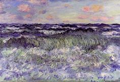 Claude Monet, Sea Study, 1881, oil on canvas