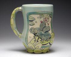 Bug Mug by Chandra DeBuse