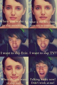 Lol pewdiepie with evie Pewdiepie Funny, Best Youtubers, Funny Youtubers, Cryaotic, I Love Him, My Love, Youtube Gamer, Smosh, My Escape