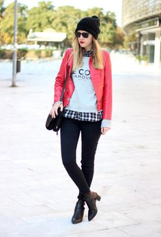 Red jacket | Chicisimo