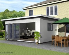 www.homeextensionsltd.co.uk - home extension idea Flat-pack extension, SIPS Home Extension