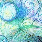 Robin Mead art journal... I can so see Starry Night Inspiration Here