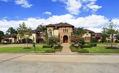 Mediterranean mansion :: Spring, Texas