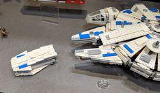 75212 Kessel Run Millennium Falcon : Les photos qui rassurent (ou pas): Que tous ceux qui trouvaient que le Millennium Flacon du set… #LEGO