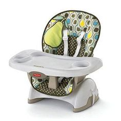 Fisher-Price Space Saver Chair - easy to clean, portable, fits on any chair