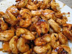 Sweet and Spicy Honey Grilled Shrimp | Our Best Bites. Change honey for agave