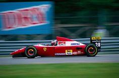 Gerhard Berger ~ Ferrari F93A ~ 1993 Canadian GP, Montreal