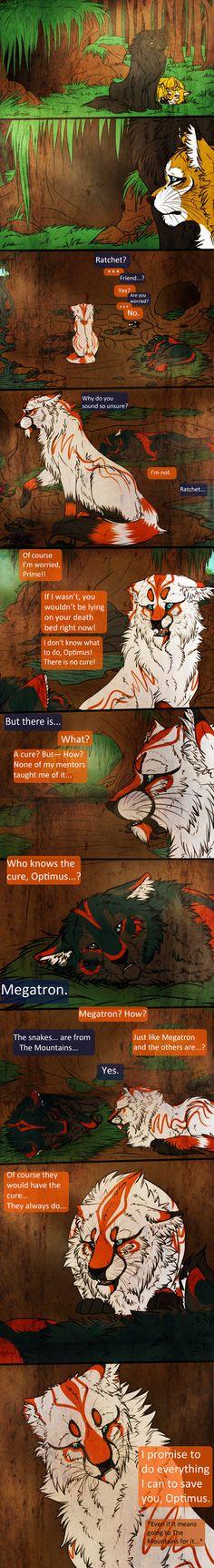 Sick Mind Page 1 (commission) by MoonTiger456.deviantart.com on @DeviantArt