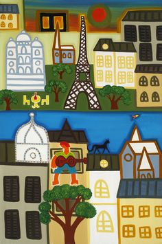 Paris in the Spring, 2006. Oil on linen, 91 x 60 cm. Exhibition: Imaginary Landscapes. Private collection. #painting #oilpainting #finearts #contemporaryart #cristinarodriguez