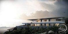 Haus Am  Meer by Nookta Architektur Visualisierungen #CG #Render #Architecture #VRay