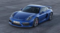 Porsche announces Cayman GT4 with 911 GT3 components and i want it.