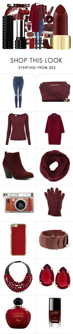 """""""Winter Blizzard"""" by sillyyivyy ❤ liked on Polyvore featuring MICHAEL Michael Kors, Temperley London, Winser London, Call it SPRING, BCBGMAXAZRIA, Lomography, Lacoste, Kenneth Jay Lane, Fairchild Baldwin and T Tahari"""