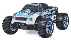 Nitro powered car