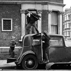 Frederick Wilfred. London 1950's & 60's