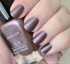 Inglot - O2M Nagellack 634 - Swatch
