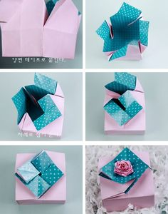 Beautiful Gift Box Paper Craft